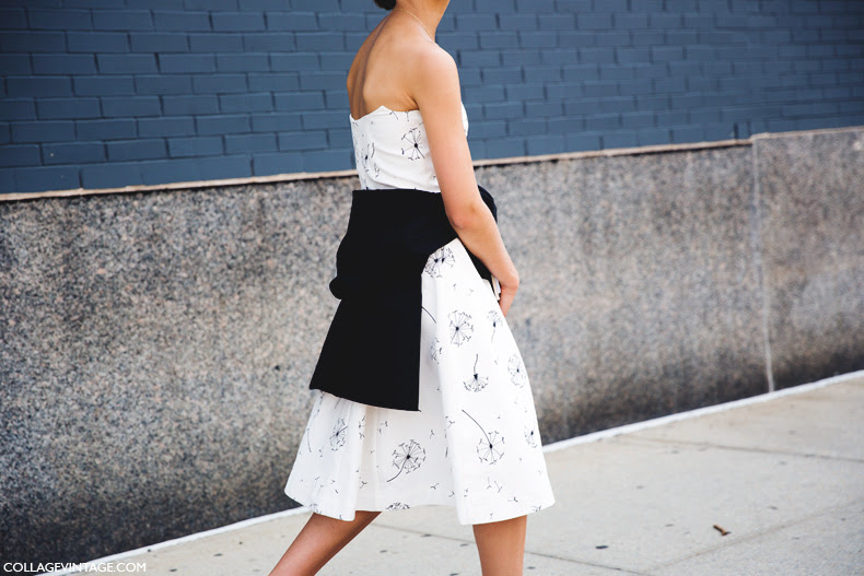 New_York_Fashion_Week_Spring_Summer_15-NYFW-Street_Style-Black_And_White-Sneakers-Adidas-Sporty_Chic-1