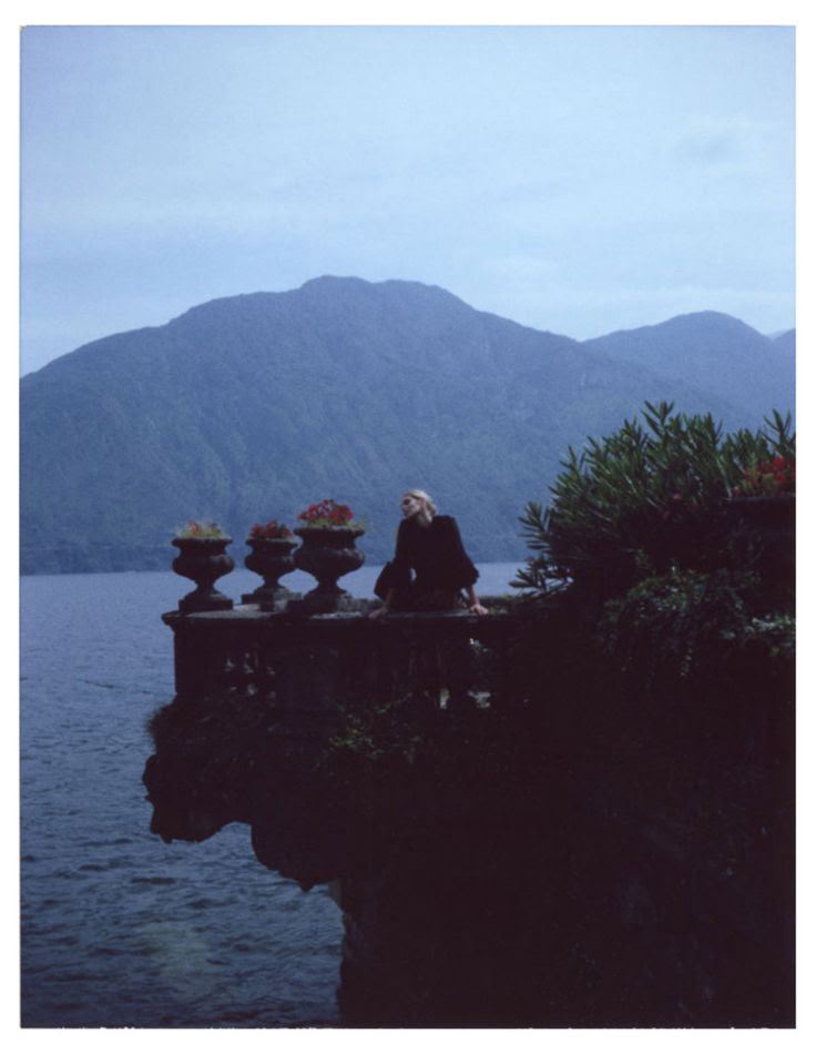 Dennison Bertram photographs for Marie Claire Czech