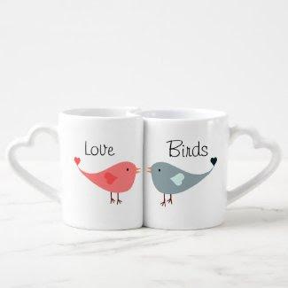 Love Birds Lovers Mugs