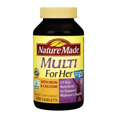 Nature Made Multi For Her Tablets 300 Count