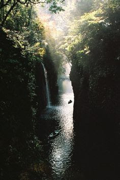 Takachiho Gorge, Japan byJames Hadfield.