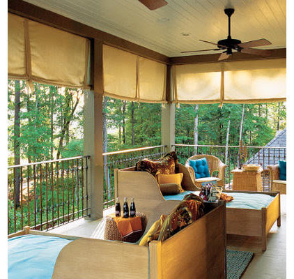 DIY Projects: Outfitting a Sleeping Porch