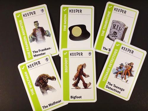 Monster Fluxx Keepers