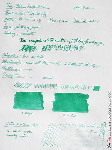 Pelikan Brilliant Green on copy