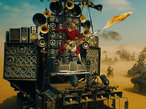 Fury road crazy vehicles