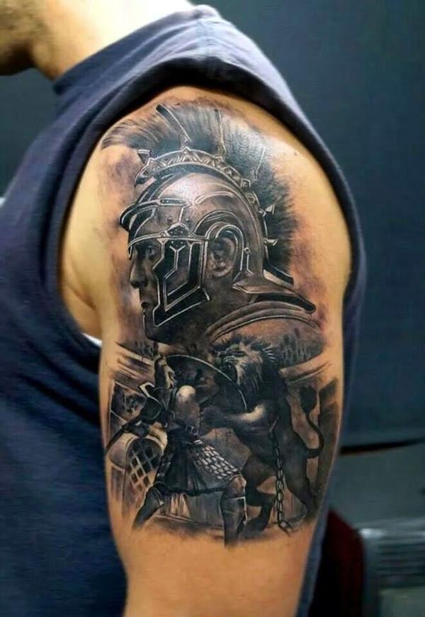 Valiant Gladiator Tattoo Designs (1)