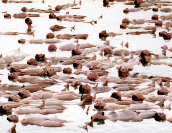 Spencer Tunick - Dead Sea Project, 2