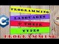 Types of Programming Languages | Programming Fundamentals