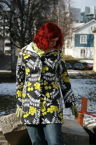 Spring coat and april sunshine