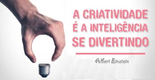 IMAGEM: Citação de Albert Einstein