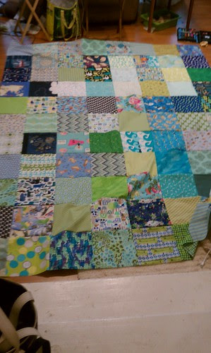 Quilt back #2 pieced by aviva_hadas (Amy)