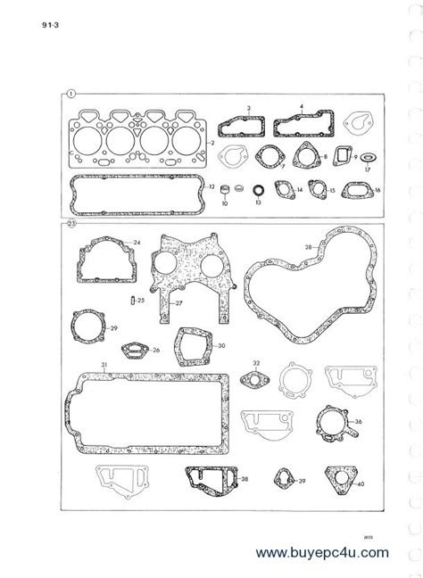 Perkins Diesel Engines 4.248 Parts Manual PDF