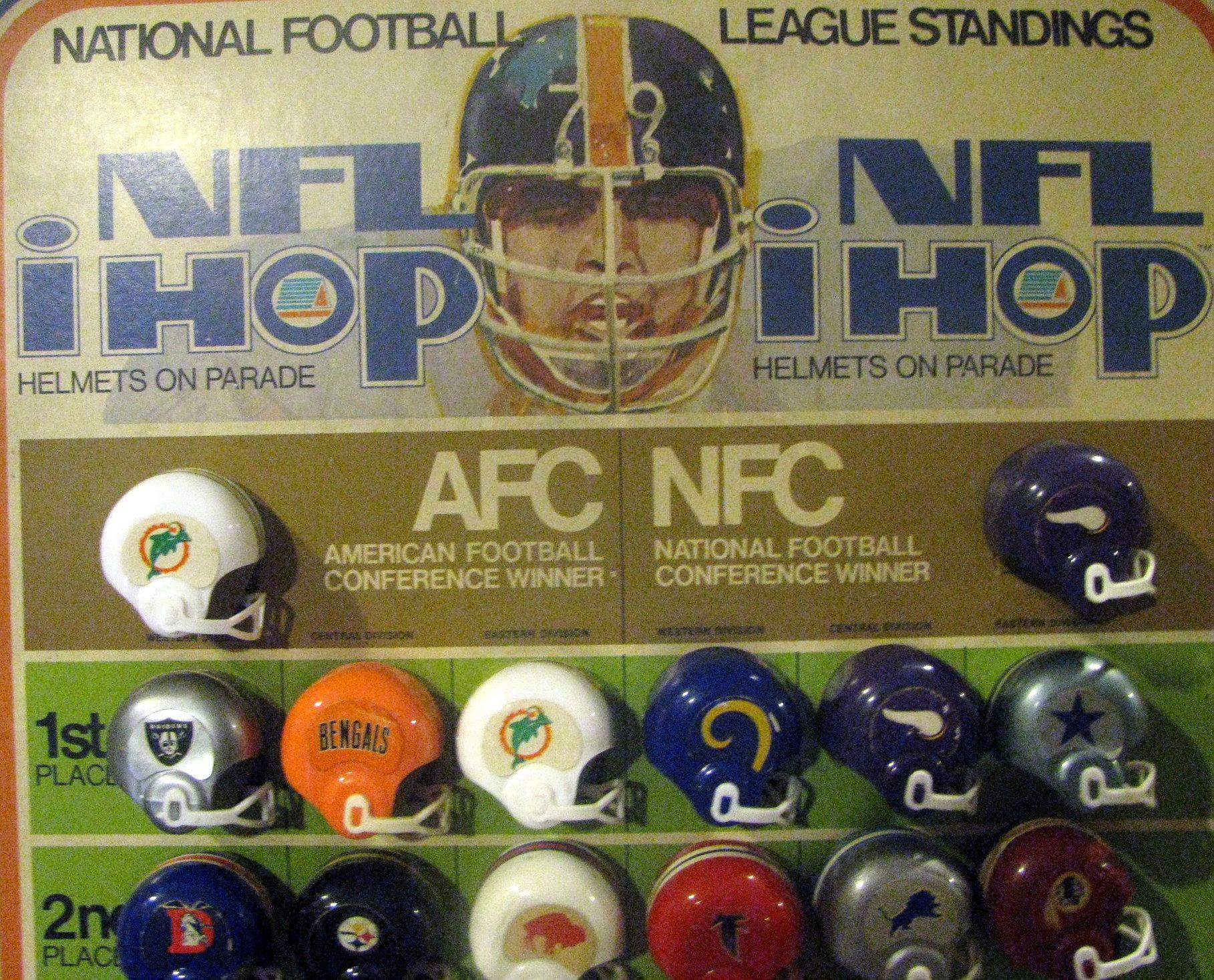 Lot Detail VINTAGE 1973 NFL MINI HELMET STANDING STORE DISPLAY