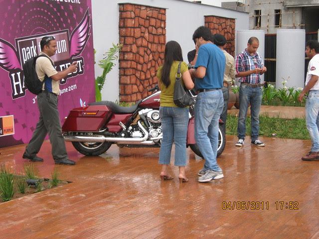 """Park Titanium Harley Fest"" at Park Street Wakad Pune -IMG_6902"