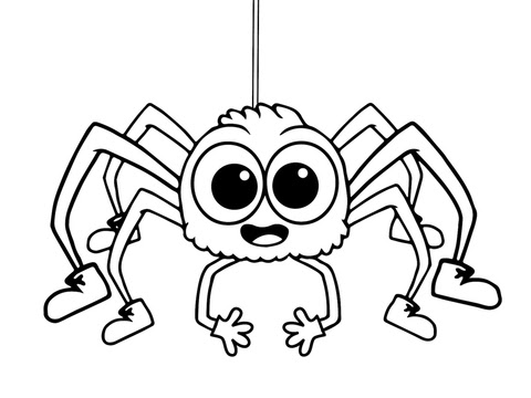 43 Top Cute Spider Coloring Pages Download Free Images