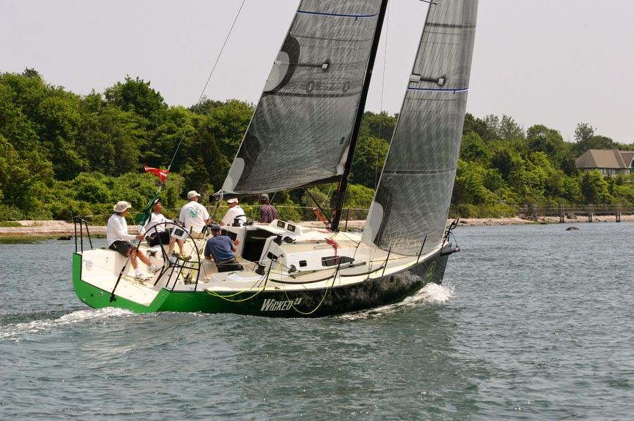 J/111 Wicked sailing Block Island Race Week