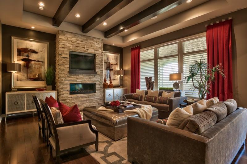 Impressive Brown Living Room Options For Your Home - OBSiGeN