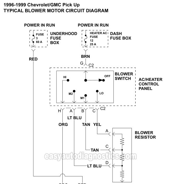 44 Awesome Blower Motor Relay Wiring Diagram