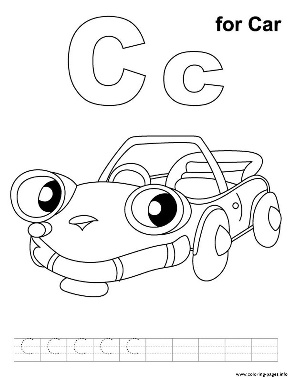 Free Alphabet Coloring Pages Ecosia
