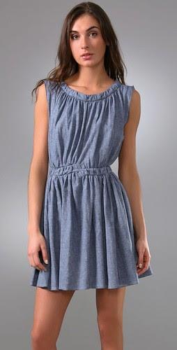 thakoon denim dress