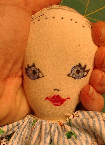 unfinished dolls head