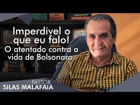 Pastor Silas Malafaia comenta sobre o atentado contra a vida de Bolsonaro.