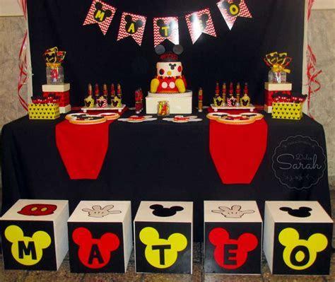 Mickey Moue Birthday Party Ideas   Photo 1 of 10   Catch
