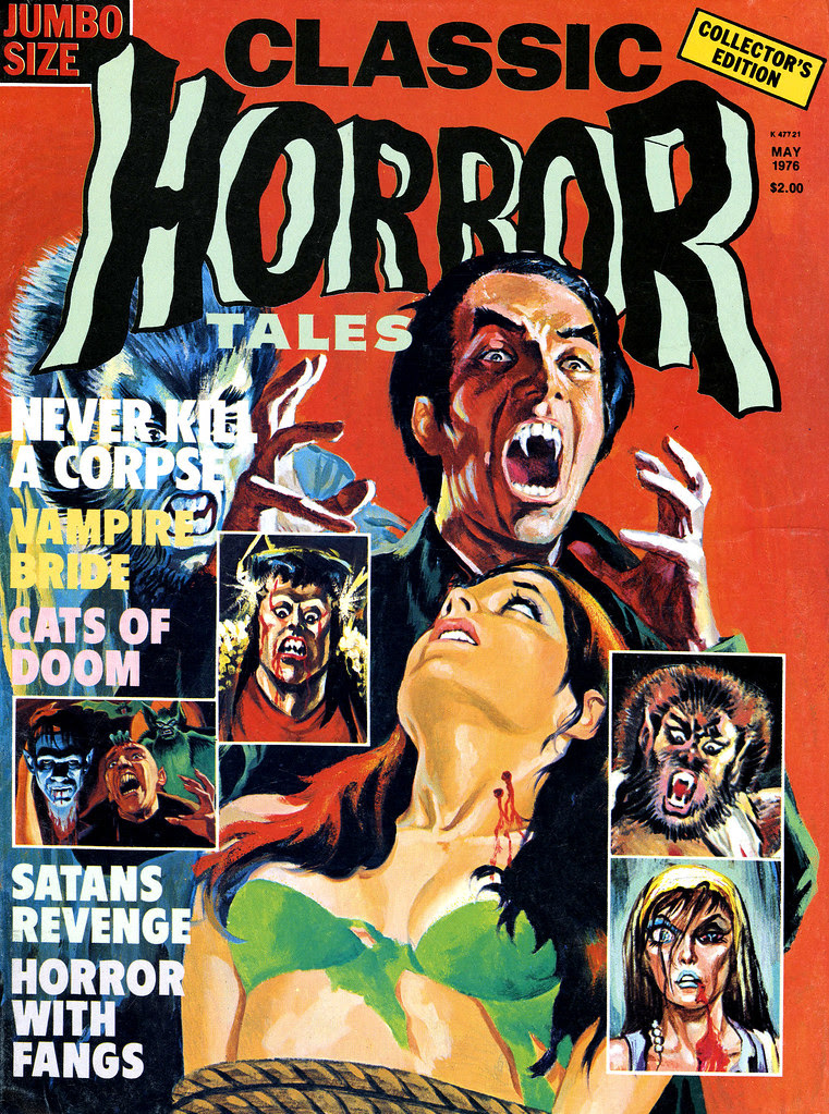Horror Tales - Vol.7 #2 (Eerie Publications, 1976)