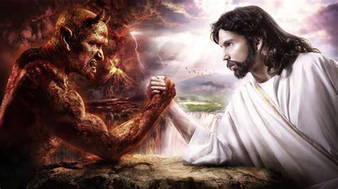 anime hell devil digital art religion artwork jesus