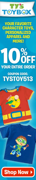 Save 10% on all orders at TysToyBox.com