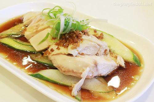 Hainanese Chicken P128