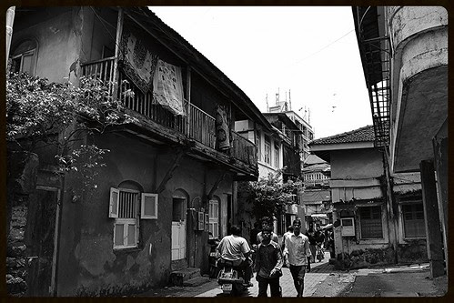 Bandra Bazar Road Is Old Time Rustic Bandra .. Pride of East Indian Community by firoze shakir photographerno1