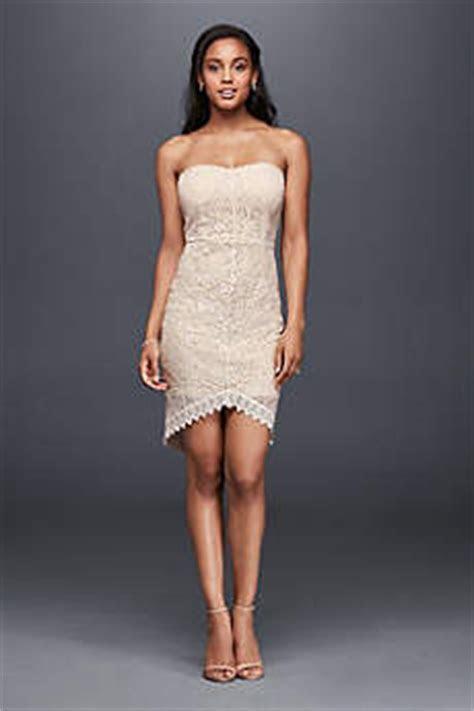 Short & Tea Length Wedding Dresses   David's Bridal