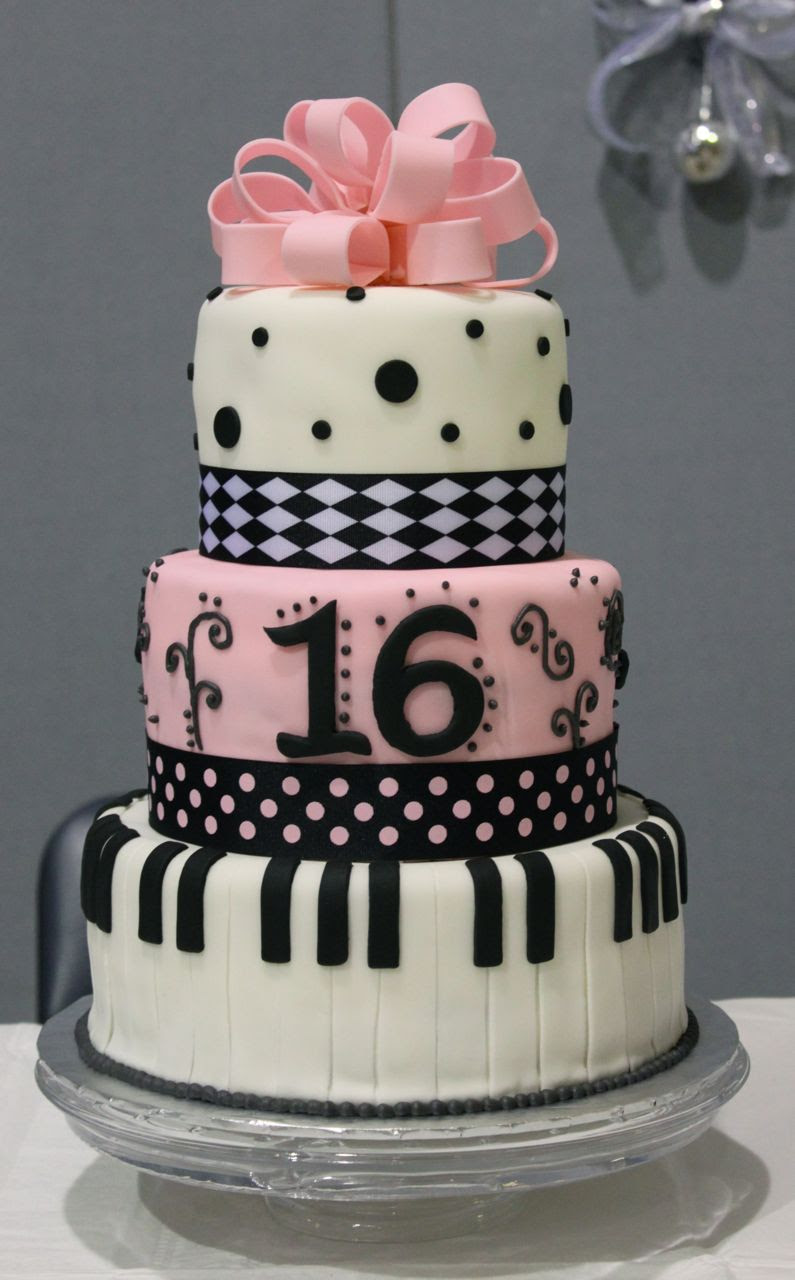 Outstanding 16Th Birthday Cake Girl Top Birthday Cake Pictures Photos Images Funny Birthday Cards Online Alyptdamsfinfo