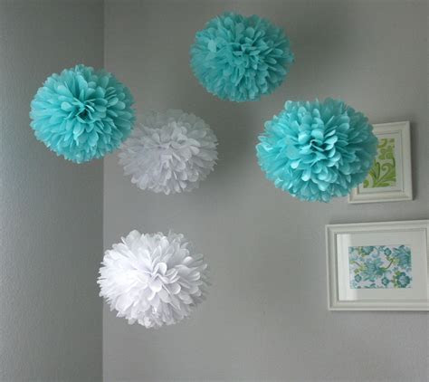 Tiffany .. Tissue Paper Poms / Wedding / Birthday / Baby
