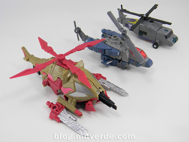 Transformers Vortex Generations Fall of Cybertron - SDCC Exclusive - modo alterno vs G1 vs Universe