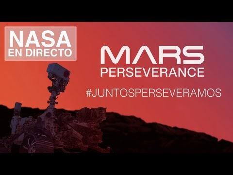 EN DIRECTO:El aterrizaje del rover Perseverance en Marte