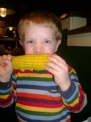 Corn on the Cob at Chili's