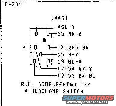 79 f250 headlight switch wiring diagram  wiring diagram