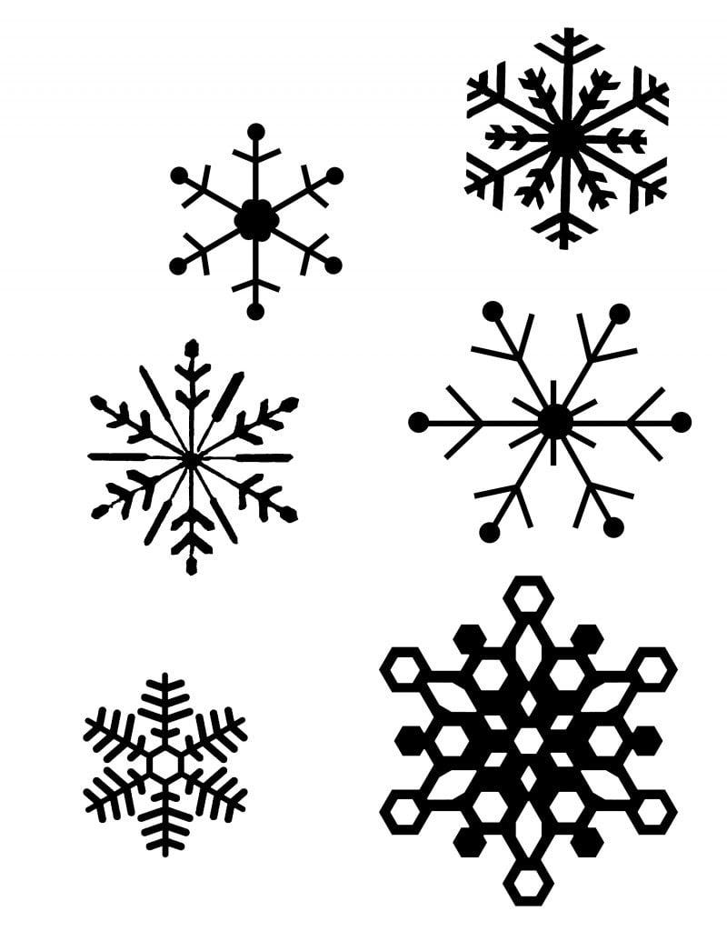 Malvorlagen für Weihnachten Lassen Sie Kinder Fensterbilder ausmalen