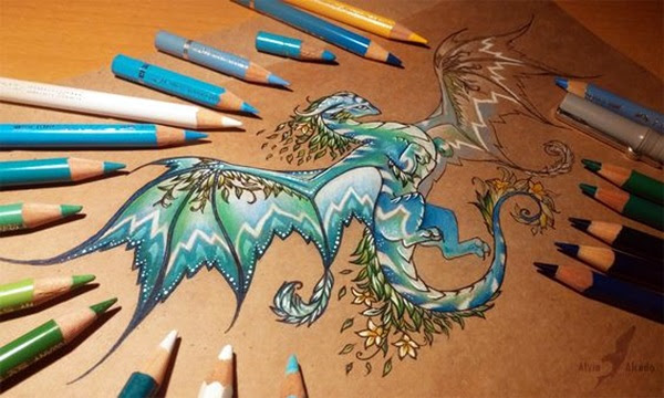 color pencil drawing Examples (49)