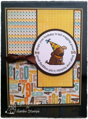 Hambo Bailey Cupcake Card