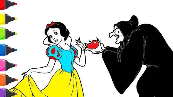 Pamuk Prenses Boyaması