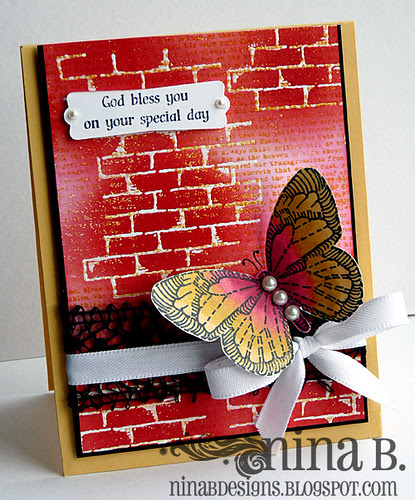 Brick and Butterfly