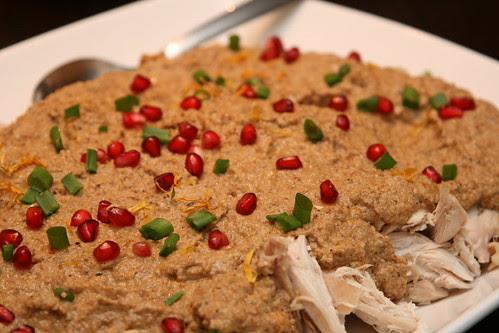 Chicken satsivi / Kana satsivi