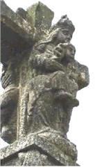 Virgen en crucero