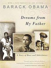 """Capa do livro de Barack Obama intitulado """"Sonhos de meu Pai"""""""