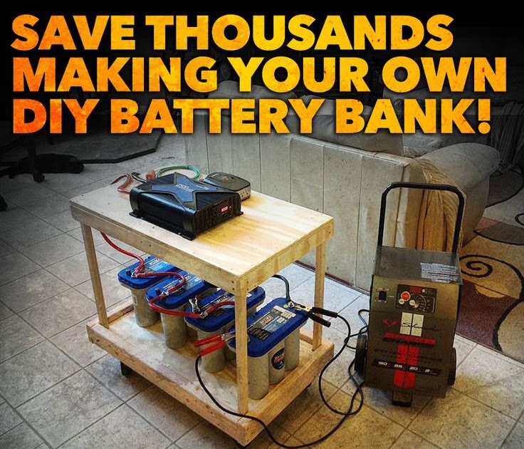 Get Build your own solar battery bank ~ George Mayda