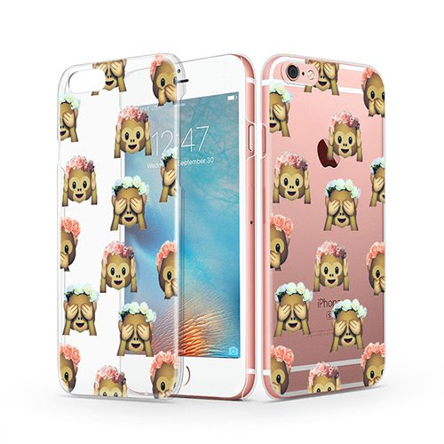 Iphone 6s Clear Case Funny Iphone 6 Case Mosnovo Cute Monkey Emoji
