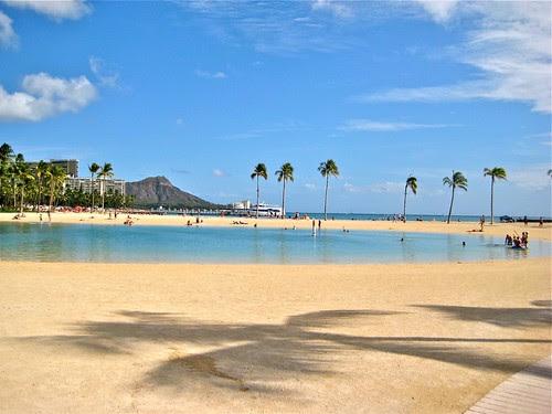 Lagoon at the Hilton Waikiki 1010